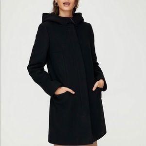 Aritzia Babaton Pearce Wool Coat - XS, Black